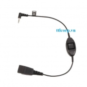 Cable Jabra 2.5mm to QD 8800-00-46