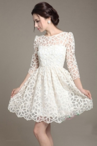 Đầm Ren Hoa
