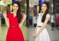 Đầm thun cao cấp hoa hậu Thu Thảo