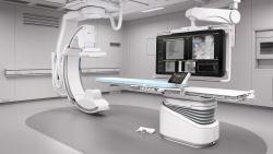 Máy chụp mạch xóa nền 1 bình diện treo trần Azurion 3F15