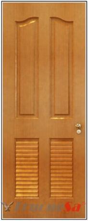 Cửa gỗ HDF Veneer.4L2 - XoanDao