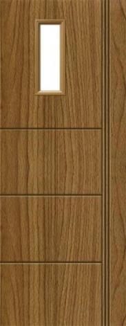 Cửa nhựa gỗ SYB - 255