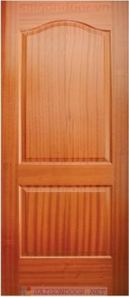 Cửa gỗ HDF Veneer.2A - Sapele