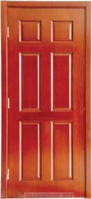 Cửa gỗ HDF Veneer.6A - CamXe