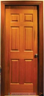 Cửa Gỗ HDF veneer SG.6A-Sample