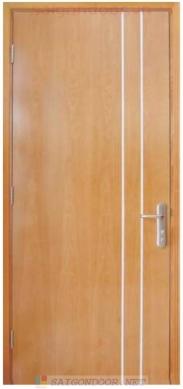 Cửa Gỗ MDF Veneer P1R3a