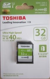 Thẻ nhớ lớn SD Toshiba 8GB-16GB -32GB