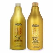 DẦU GỘI XẢ MYTHIC OIL L'OREAL SHAMPOO DÀNH CHO TÓC HƯ TỔN 750ML