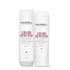 CẶP DẦU GỘI XÃ TÓC NHUỘM GOLDWELL COLOUR 250ML