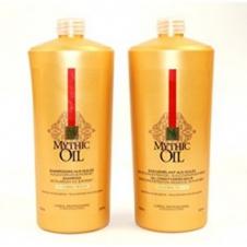 DẦU GỘI XẢ MYTHIC OIL L'OREAL CHO TÓC HƯ TỔN 1000ML