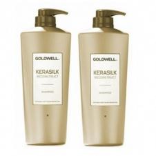 DẦU GỘI XẢ SUÔN MƯỢT GOLDWELL KERASILK CONTROL 1000ML