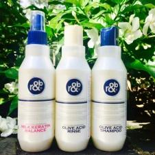 Combo gội xả nước dưỡng tóc R&B Olive Acid 250ml