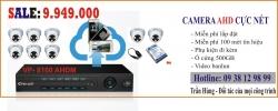 Trọn bộ 8 kênh camera
