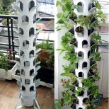 Tháp trồng rau thổ canh