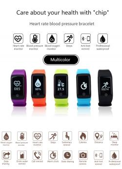 Vòng đeo tay theo dõi sức khỏe H10 Pro