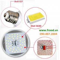 Bóng đèn LED 12w E27