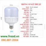 Bóng đèn LED tiết kiệm 28w