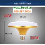 Bóng đèn LED UFO Gold 24W
