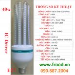 Bóng đèn LED 5U 40w E27