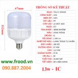 Bóng đèn LED đủ 13w
