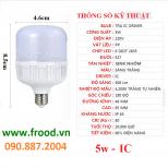Bóng đèn LED đủ 5w