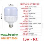 Bóng đèn LED tiết kiệm 13w