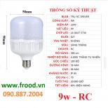 Bóng đèn LED tiết kiệm 9w