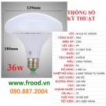 Bóng đèn LED UFO 36w