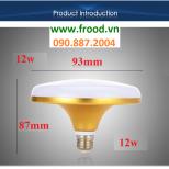 Bóng đèn LED UFO Gold 12W
