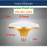 Bóng đèn LED UFO Gold 18W