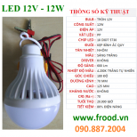 Bóng đèn LED 12v