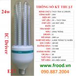 Bóng đèn LED 4U 24w E27