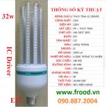 Bóng đèn LED 4U 32w E27