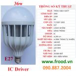 Bóng đèn LED siêu sáng 36w