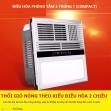 Máy điều hòa phòng tắm 5 in 1 (compact)