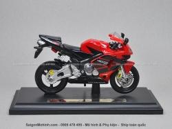 Mô tô 1/18 - Honda CBR600RR - Đỏ đen - Maisto