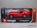 FERRARI 250GTO - 1/24 - Mô hình Ferrari 250GTO - Bburago - Đỏ