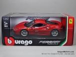 FERRARI 488 - 1/24 - Mô hình siêu xe Ferrari 488 GTO - Bburago