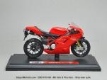 Mô tô 1/18 - Ducati 1098S - Đỏ - Maisto