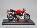 Mô tô 1/18 - Ducati GT1000 Classic - Đỏ - Maisto