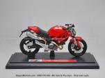 Mô tô 1/18 - Ducati Monster 696 - Đỏ - Maisto