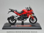 Mô tô 1/18 - Ducati Multistrada - Đỏ - Maisto