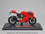 Mô tô 1/18 - Ducati Panigale 1199 - Đỏ - Maisto