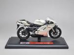 Mô tô 1/18 - Ducati 848 - Trắng Bạc - Maisto