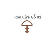 Ron Cửa Gỗ Màu Gỗ 01