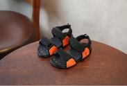 Sandal bé trai hiệu K.K.B MÀU CAM