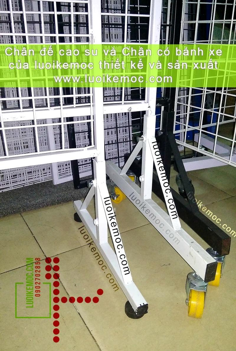 Khung Lưới Có Chân 0.6 x 1.2m - Mẫu Chân Mới Tháo Lắp Nhanh