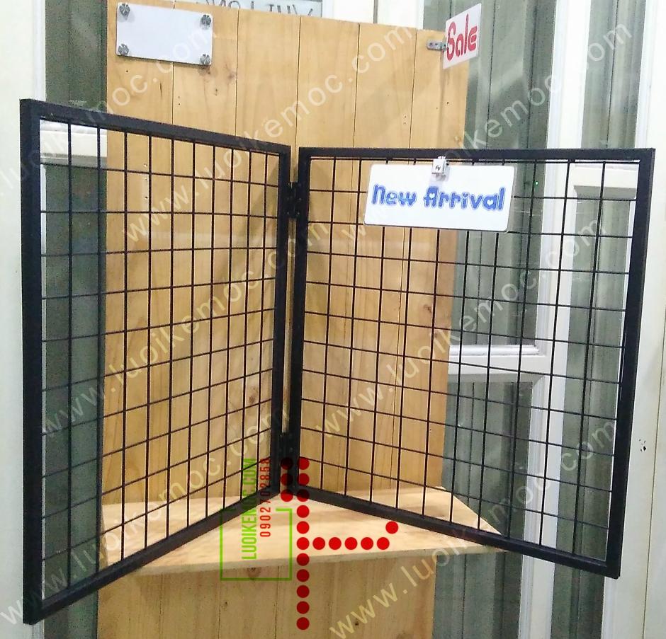 Khung Lưới Đôi 60cm x 60cm Đen