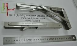 Bản lề gập thông minh INOX Stainless Steel 25cm