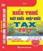 Biểu Thuế Xuất Nhập Khẩu 2017 mới nhất
